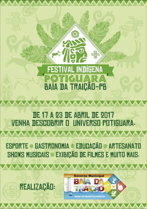 I Festival Indígena Potiguara